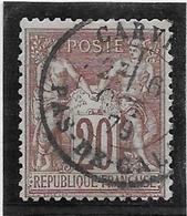 France N°67 - Oblitéré - TB - 1876-1878 Sage (Type I)