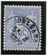 France N°68 - Oblitéré - TB - 1876-1878 Sage (Type I)