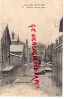 77 - MELUN- RUE DES MARAIS - CRUE DE LA SEINE 1910-INONDATIONS - Melun