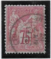 France N°71 - Oblitéré - TB - 1876-1878 Sage (Type I)