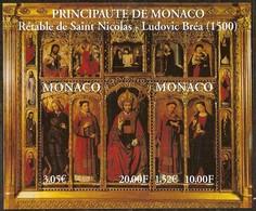 Monaco 2000 Yvertn° Bloc 84 *** MNH Cote 17,00 Euro Rétable De Saint-Nicolas - Blocs