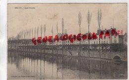 77 - MELUN- QUAI PASTEUR   CARTE PRECURSEUR 1903 - Melun