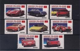 UNION ISLAND - GRENADINES OF ST. VINCENT - SET OF 8 STAMPS DE AUTOMOVILES FERRARI - St.Vincent & Grenadines