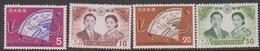 Japan SG798-801 1959 Imperial Wedding, Mint Never Hinged - 1926-89 Keizer Hirohito (Showa-tijdperk)