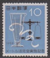 Japan SG804 1959 Adoption Metric System, Mint Never Hinged - 1926-89 Keizer Hirohito (Showa-tijdperk)