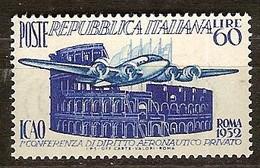 Italie Italia Yvertnr 635 *** MNH Cote 22,50 Euro Avions Vliegtuigen Airplanes - 1946-.. République