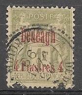 Greece French Post Dedeagh 1893/1900 O/p 4pi/1F - Used - Dedeagh (Dedeagatch)