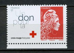 2018 MARIANNE L'ENGAGEE  ( Carnet Croix Rouge ) Neuve - France