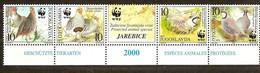 Yougoslavie Joegoslavie 2000 Yvertn° 2815-18 Se Tenant  *** MNH Cote 10,00 Euro Faune WWF Oiseaux Vogels Birds - W.W.F.