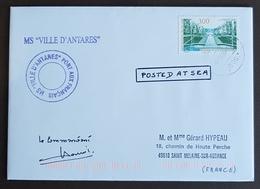 1997, France, Ville D'Antares, The Castle Sceaux - Marcophilie (Lettres)