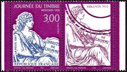 France Philatélie N° 3052 A ** Journée Du Timbre 97 - Mouchon En Paire (timbre Avec Vignette) - Tag Der Briefmarke