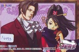 Télécarte Japon * MANGA * CAPCOM  (16.493)  COMIC * ANIME  Japan PHONECARD CINEMA * FILM - Comics