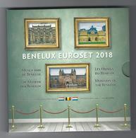 BELGIE -BELGIQUE EUROMUNTEN BU-set 2018 -  BENELUX - Musea Benelux - Belgique