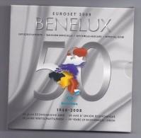 BELGIE -BELGIQUE EUROMUNTEN BU-set 2008 -  BENELUX - Belgique