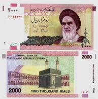 IRAN 2000 Rials 2000 P-New UNC - Iran