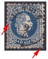 AUSTRIA / ÖSTERREICH - LEVANT - 1867 (10 SLD - Mi. 4I) - STEMPEL : TULTSCHA / TULCEA On DANUBE - ROMANIA - RRR ! (aa250) - Levante-Marken