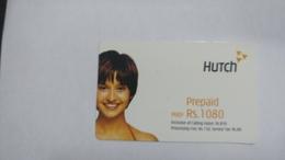 India-hutch Prepiad-(11m)-prepiad-(rs.1080)-(7/11/2004)-prepiad Card-used+1 Card Prepiad Free - India