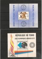 TCHAD Sports   Années 1972/73  Bloc . N° Y/T : 13/14** - Tchad (1960-...)