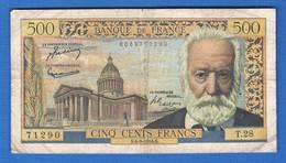 500 Fr  Du  4/3/1954 - 1871-1952 Anciens Francs Circulés Au XXème
