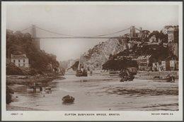 Clifton Suspension Bridge, Bristol, C.1910 - Rotary RP Postcard - Bristol