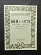 Musica Spartiti - Philarmonia No. 795 - Joseph Haydn - Sinfonia No. 95 - Vecchi Documenti