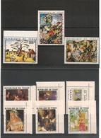 TCHAD Tableaux   Années 1969/74 N° Y/T : 207/12** Et P.A.  N° Y/T : 65 Et 73***  Côte: 15,50 € - Tchad (1960-...)