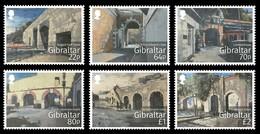 Gibraltar 2016 Micheln°  1735-1740 *** MNH  Historic Gates - Gibraltar