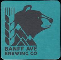 BEER MATS - Banf Ave Brewing Co (*) (BM108) - Beer Mats