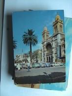 Tunesië Tunisie Tunesia Tunis Cathédrale Auto - Tunesië