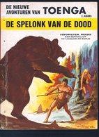 Favorieten-reeks: Toenga - De Spelonk Van De Dood (Aidans) (Lombard 1969) - Favorietenreeks