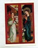 Carte Schongauer Annonciation  Cachet Eguisheim  + Paroisse - Peintures & Tableaux