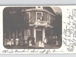 Halstenbek In Schleswig Holstein Echte Foto 1905 BÄCKEREI CONDITOREI A. Schlüter Viel LEBEN - Altri