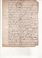 Gen D'Auch L'An1760 23 Sept Eaux Et Forets Maitrise De Commenge  Concerne La Commune D'Arguenos (4 Scans ) - Manuscrits