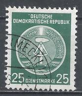German Democratic Republic 1954. Scott #O10 (U) Arms Of Republic * - Service
