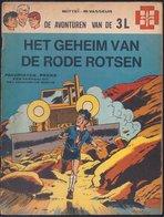 Favorieten-reeks: De Avonturen Van 3L - Het Geheim Van De Rode Rotsen (Mitteï Vasseur) (Lombard 1969) - Favorietenreeks