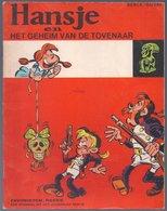 Favorieten-reeks 24: Hansje En Het Geheim Vande Tovenaar (Berck) (Lombard 1969) - Favorietenreeks