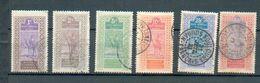 Haut Sen 22 - YT 18-19-21-22-25-27 ° Obli - Haut-Sénégal Et Niger (1904-1921)