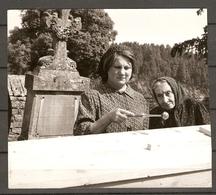 PHOTO ORTF RELATION PRESSE 1966 - DOMINIQUE DAVRAY GABRIELLE DOULCET - TV FILM L'ESPAGNOL JEAN PRAT - Célébrités