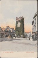 St Leonard's Tower, Newton Abbot, Devon, C.1905-10 - Milton Artlette Postcard - England