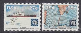 South Africa 1991 30th Anniversary Antarctic Treaty 2v ** Mnh (41437A) - Zuid-Afrika (1961-...)