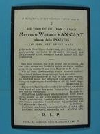 Julia Ennekens Vve Van Cant Oevel 1848 St-Gilles 1918 - Devotion Images