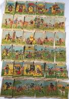 Ancien Jeu Cartes 6 Familles Farwest Cowboy Indien Diligence Sheriff Brigand Hors La Loi Delaville Banque Famille - Autres Collections