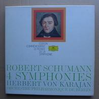 LP/ Robert Schumann - 4 Symphonies / Herbert Von Karajan  Coffret 3 LP - Classical
