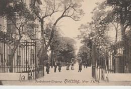 C.P.A. - WIEN - SCHONBRUNN EINGANG - HIETZING - 6681 - Château De Schönbrunn