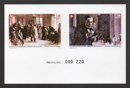 SMOM Epreuve De Luxe Collective Numérotée (PROVA) SAS 241/2. Deluxe Numbered Proof. Paintings,Tableau, Pasteur,Medicine - Louis Pasteur