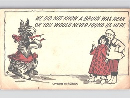 WE DID NOT KNOW A BRUIN WAS NEAR OR YOU... - 1907  P. GORDON Cangaroo - Humor