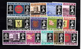 Guernsey 1969,Definitive 1/2d - 2/6 Set 13 Unmounted Mint NHM - Guernsey