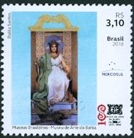 BRAZIL 2018  - BAHIA ART MUSEUM  -  MINT - Unused Stamps