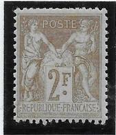 France N°105 - Neuf * Avec Charnière - TB - 1898-1900 Sage (Type III)