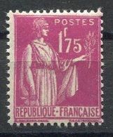 RC 10598 FRANCE N° 289 - 1f75 ROSE-LILAS COTE 22€ NEUF ** - Unused Stamps